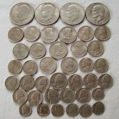 USA - Dollar - Quarter - Dime - Nickel - Lot interessant - Art. 8412