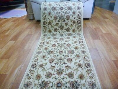 Soft High Quality Persian Design Hallway Runner by the Meter Allover Desouk Crea
