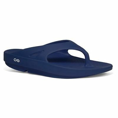 OOfos OOriginal Thongs ( NAVY ) BA APPROVED  FREE DELIVERY