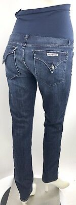 HUDSON Maternity Jeans Womens 29X32 PEA IN THE POD Skinny Over Belly W422DHA