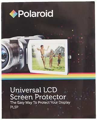 Polaroid Universal LCD Screen Protector - The Easy Way To Protect Your Di... New