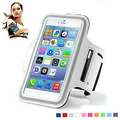 iPhone 7 Sports Armband Water Resistant Cell Phone Sporty Armband Univers... New