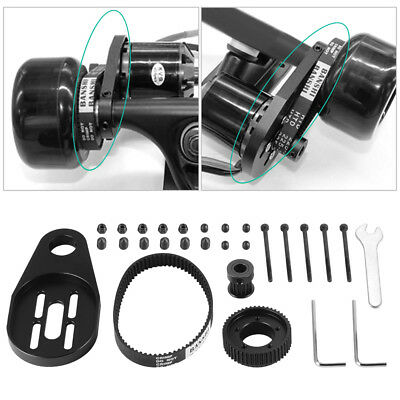DIY Electric Skateboard Longboard Kit Part Pulley Motor for 70/72mm Wheel OS915