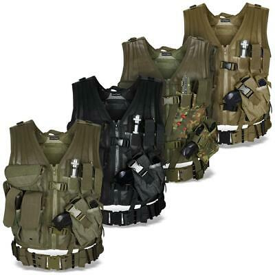 USMC Einsatzweste Weste Tactical Vest Lochkoppel Paintball Softair BlackSnake®