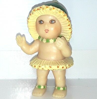 Gumnut Babies figure toy baby doll figurine May Gibbs Hard Plastic Vintage Old