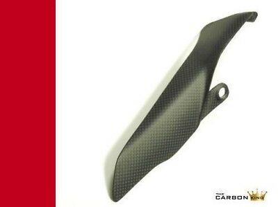 Ducati 1199 Panigale Carbon Fibre Chain Guard In Satin (Matt) Plain Fiber