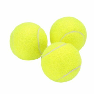 Tennis Ball Durable Elasticity Round Training Learning Sports Exercise