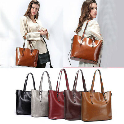 Soft Quality Women Lady Leather Handbags Shoulder Bags Messenger Hobo Tote Purse
