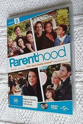Parenthood : Season 3 (DVD, 5-Disc Set) R-2+4, LIKE NEW, FREE POST IN AUSTRALIA