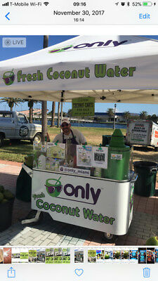 Restaurant & catering Food truck - ONLY FRESH COCONUT WATER VENDING CARTS