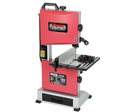 """Professional 9"""" Vertical Cut Bench Top Woodworking Bandsaw 240v With Cast Table"""