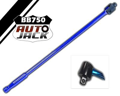 "Autojack BB750 Breaker Bar 750mm 1/2"" Sq Drive"