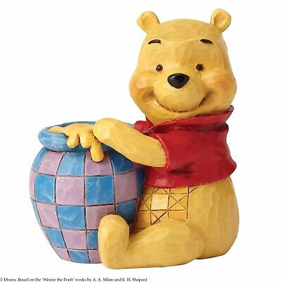 Disney Traditions Winnie The Pooh With Honey Mini Figurine Ornament 7cm 4054289