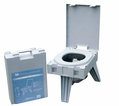 Cleanwaste Go Anywhere Portable Toilet,