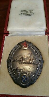 Royal Scottish Automobile Club (Rac) 1934 Rally Badge Original Box