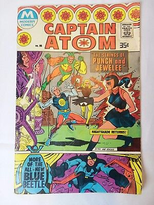 VINTAGE COMIC Captain Atom 85 Modern Comics (1978) originally presented in 1966