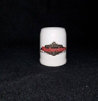 Tiny Collector Beer Stein World Famous BUDWEISER Clydsdales
