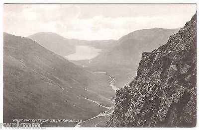 AK GBR Großbritannien Post Card Wast Water from Great Gable vor 1945
