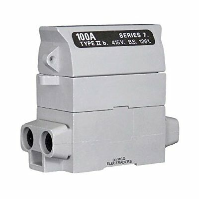 Henley 54132-04 House Service Cut Out Fuse Carrier & Base 100AMP Rated