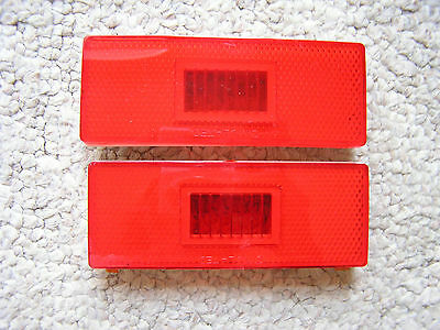 1970 MOPAR Plymouth B Body REAR Side Marker Light Lenses NEW