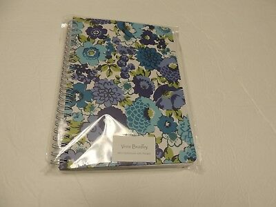 Vera Bradley MINI NOTEBOOK with pocket blueberry blooms  NWT