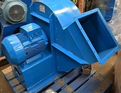 Large Industrial Fan Centrifugal Blower Spray Booth Extractor Siemens 18.5kW