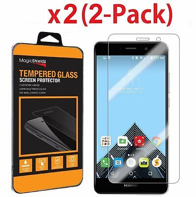 2 Pack Real Tempered Glass Screen Protector Cover For Huawei Ascend XT2