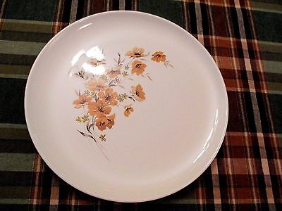 Wood Rose Ever Yours by Taylor Smith & Taylor Dinner Plate   Ex ++