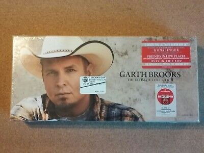 Garth Brooks Ultimate Collection CD 10 Disc Compilation Box Set Brand New Sealed
