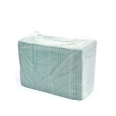 Disposable Dental bibs, 2-ply Tissue + 1-Poly backed, 13x18, 125pc/bag
