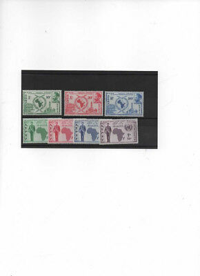 Ethiopia SG No. 482-487 MNH+ VF! two complete sets