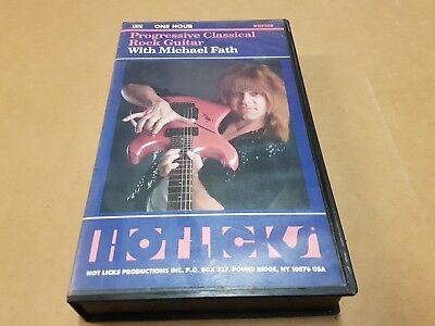 Michael Fath  Progressive Classical Rock Guitar Instructional Video - Vhs