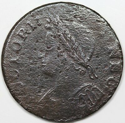 1786 Connecticut Copper, Mailed Bust Left, VF detail