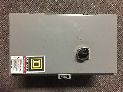 Square D Class 8903 TYPE S 60 AMP Lighting Contactor