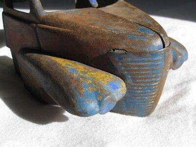 Buddy L truck cab parts or for Custom Tonka 1950s 1940s surface patina rusty