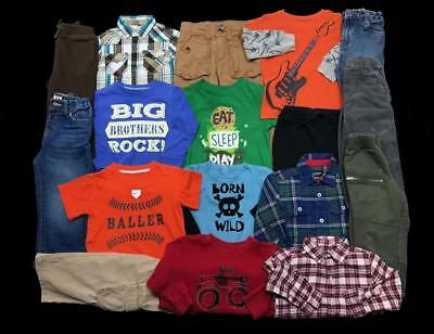 HUGE LOT Boy 24 months 2T NIKE GAP Carter's oufits Big Brother Clothes LOT