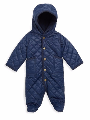 Ralph Lauren Polo Baby Boys Bunting Snowsuit Sz 9 Mths Saks 5th  99.50 SALE!!!!