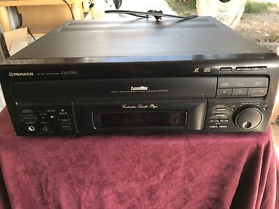 PIONEER VINTAGE CLD-D701 LASER DISC PLAYER with remote repair or parts