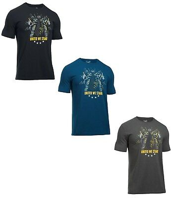 Under Armour Men's UA Freedom United We Stand Loose Fit Tactical T Shirt - NWT
