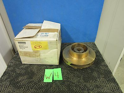 "Energy Brass Bronze Pump Impeller 7"" Military Surplus Marine Water 1"" Shaft New"