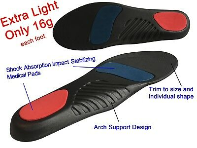 Light Orthotic Healthy Insole Heel Front Foot Cushion Back Heel Pain Treatment