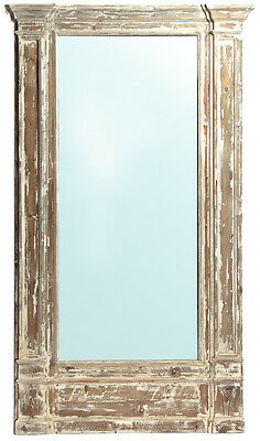 Vintage Style Distressed Reclaimed Pine Large Wall  Floor Mirror,51'' x 86''H.