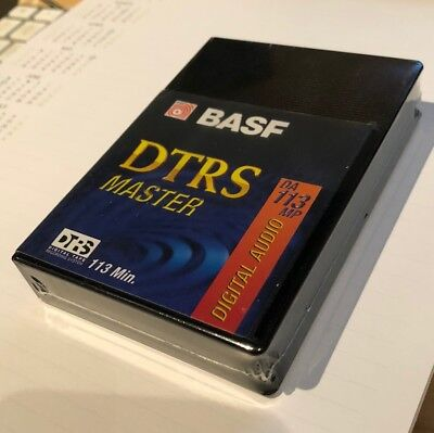 NEW-SEALED Digital Audio Tape DA113MP BASF for Tascam DA-88 etc