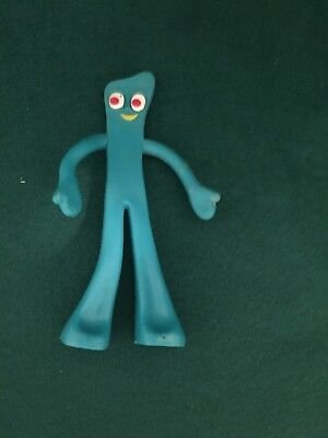 """GUMBY Vintage 6"""" Rubber Toy Figure"""