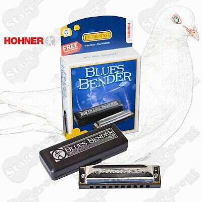 Hohner Blues Bender Pac Harmonica Key C Blues Bending Made Easy