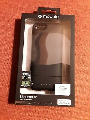 MOPHIE Juice Pack Air in BLACK for iPhone 5,5s,and SE with free ship to Cont US