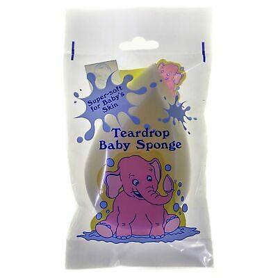 Hygan Baby Bathing Synthetic Teardrop Sponge - From Birth