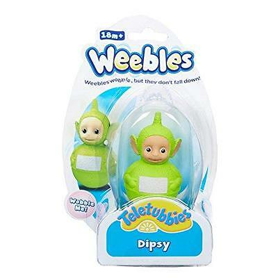NUOVO Teletubbies Weebles Wobble Dipsy Statuetta