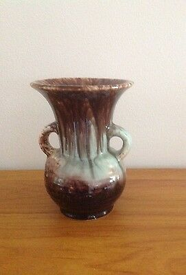 Vintage West German drip glaze vase