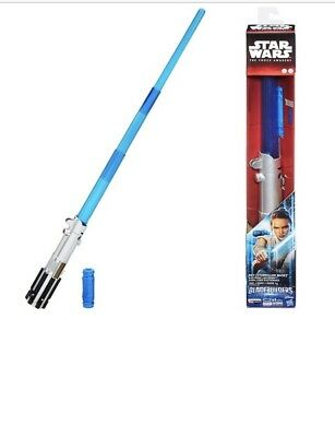 Disney Star Wars Bladebuilders Electronic Lightsaber Rey (Starkiller Base) Blue